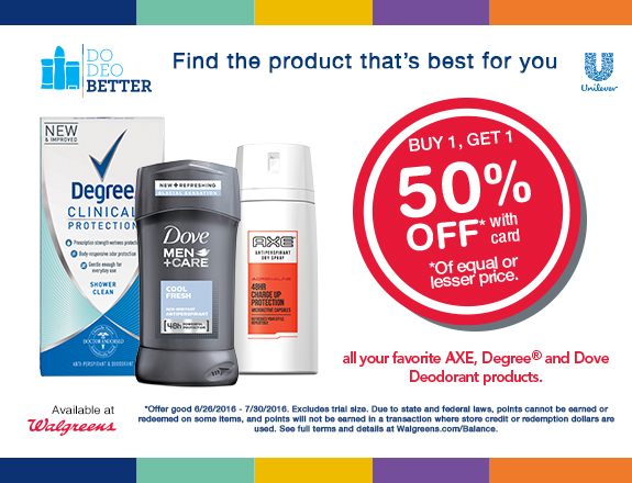 Walgreens Do DEO Better