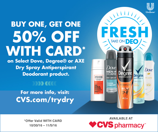 CVS Try Dry Campaign