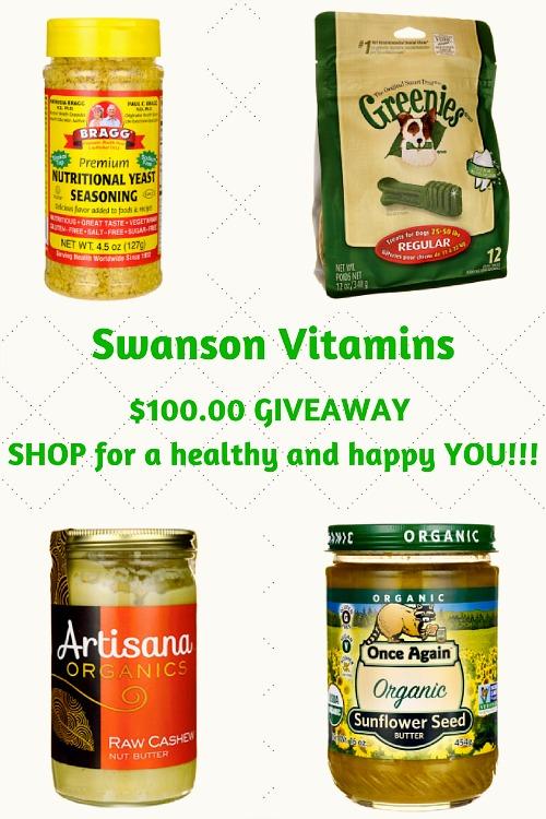 Swanson Vitamins Giveaway