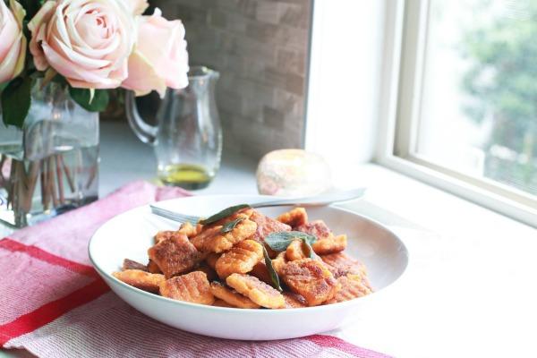 Whole30 Sweet Potato Gnocchi