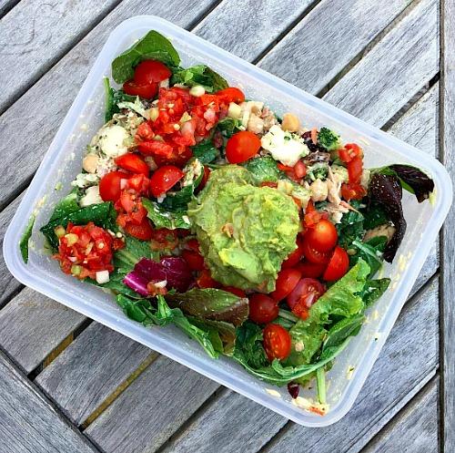 Building A Beautiful Salad