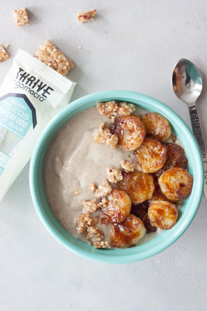 Banana Foster Smoothie Bowl