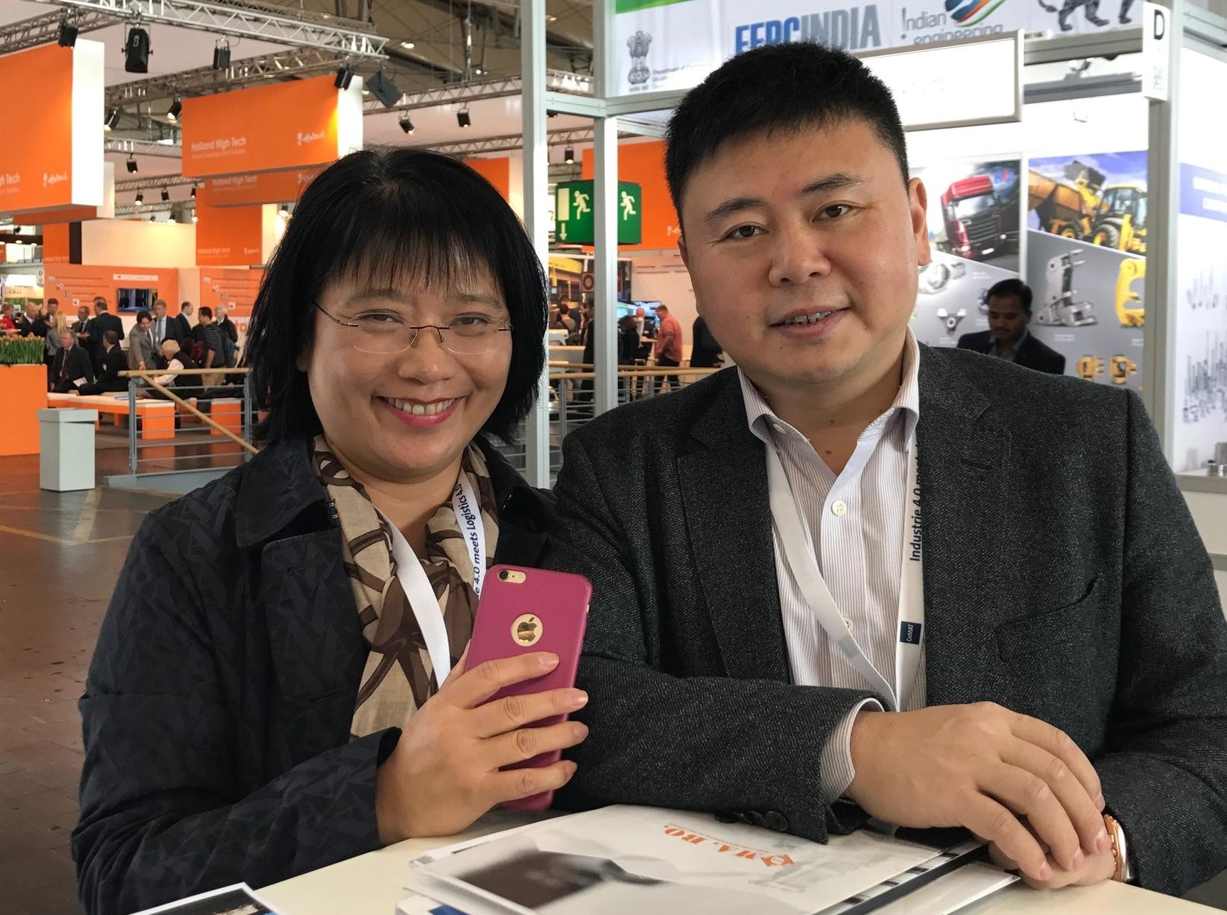 ....Chinese visitors..Besökare från Kina....