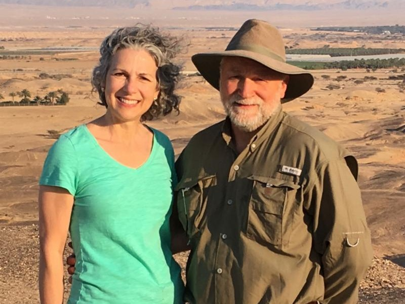 Barry & Audrey Miller - The full moon at Passover in Israel--there's nothing like seeing it firsthand with one's feet firmly standing in the Land. Nothing.Men, Sukkot is a time to set aside our creative enterprises, our usual work. It is a time to gather, to hear from God and each other.