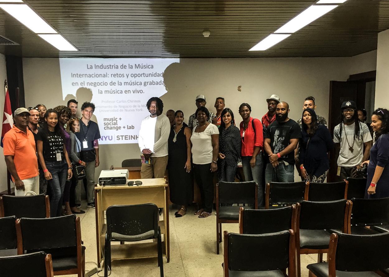 NYU Music + Social Change Lab
