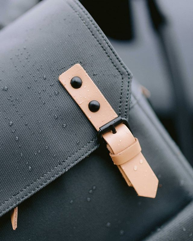 TYPE-II: Weather the storm. Charcoal + Natural Travel Backpack. Built for #TheModernTraveler
