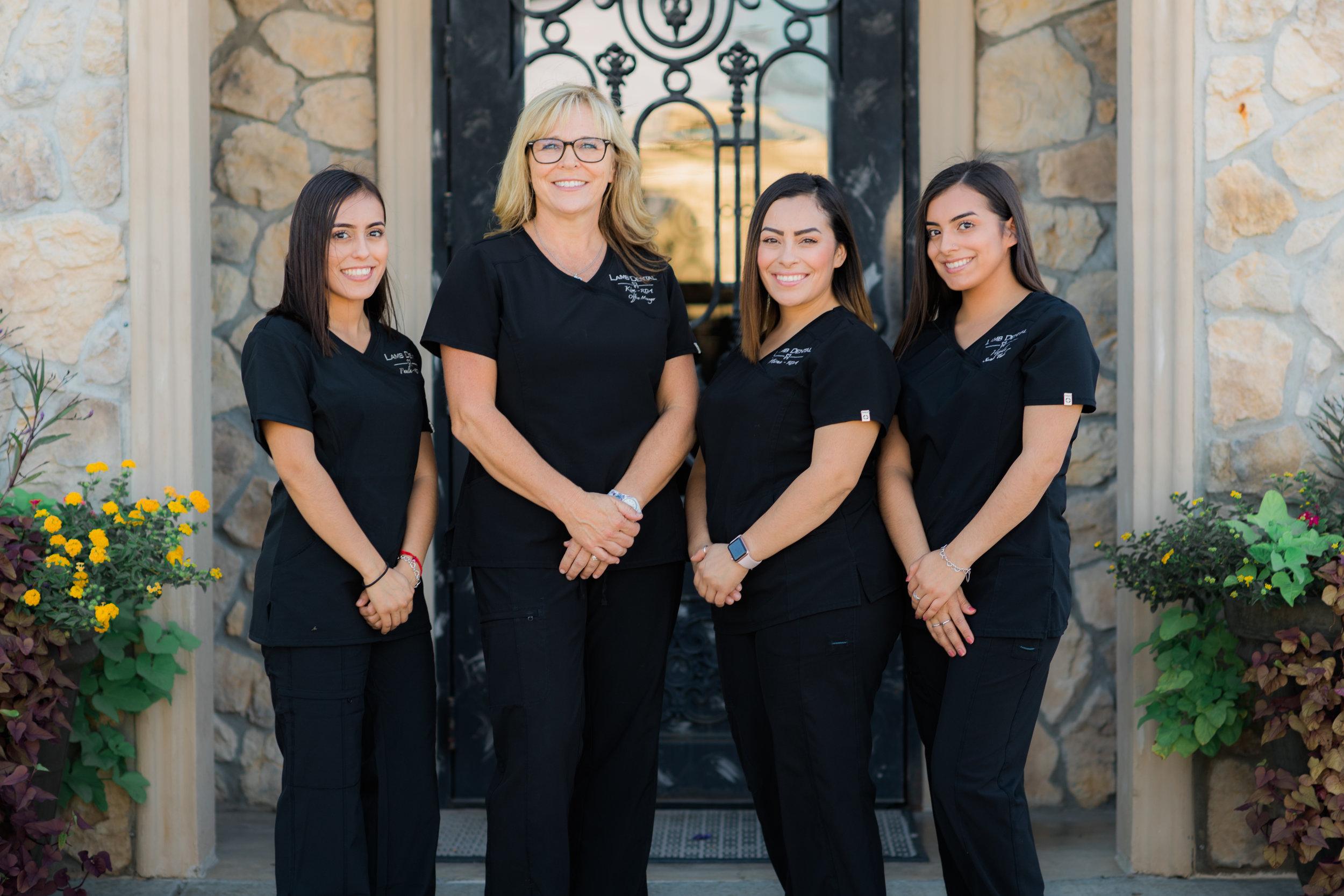 Lamb Dental Office & Assistant Team