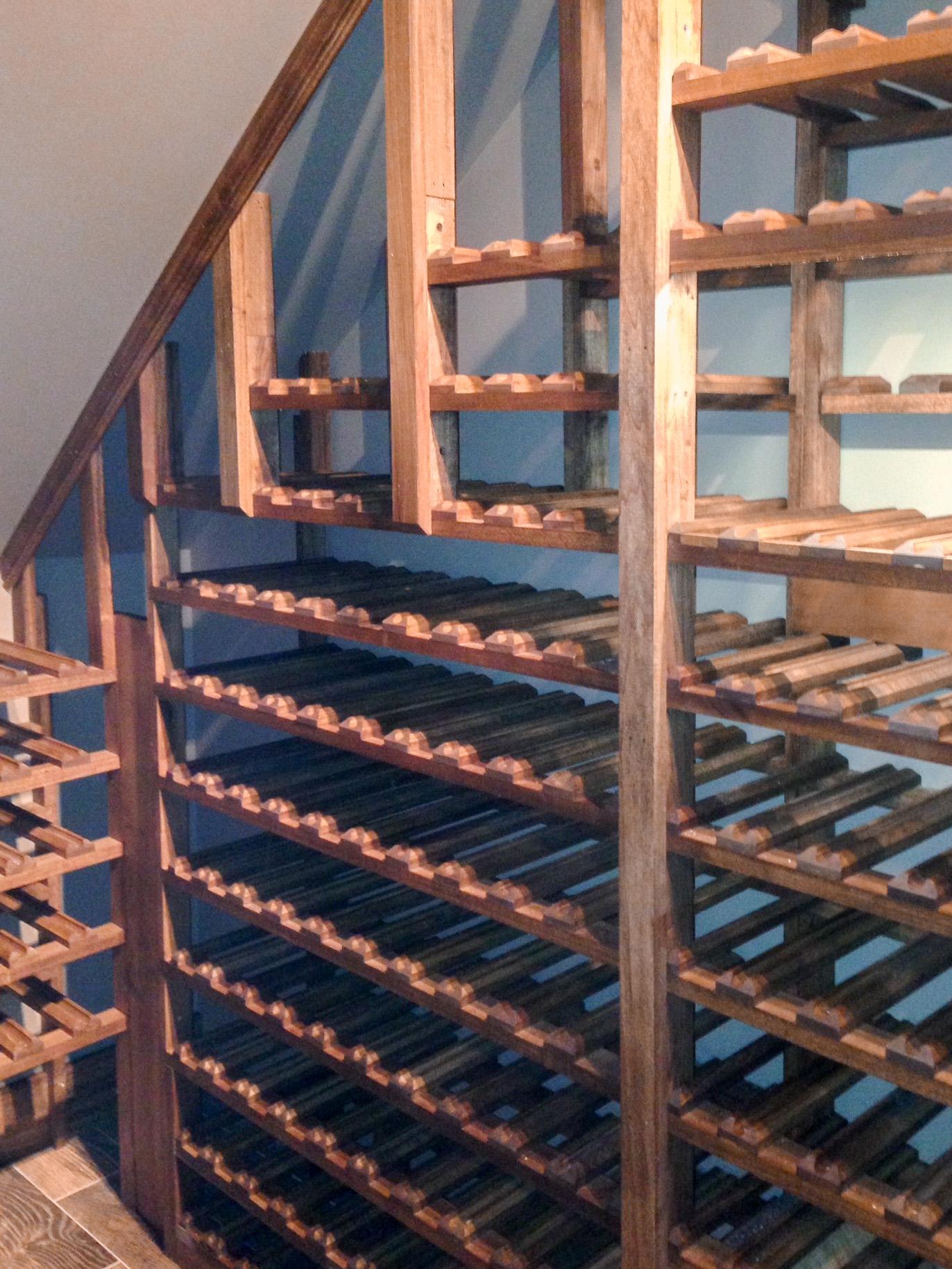 Wine Cellar - Custom Racks