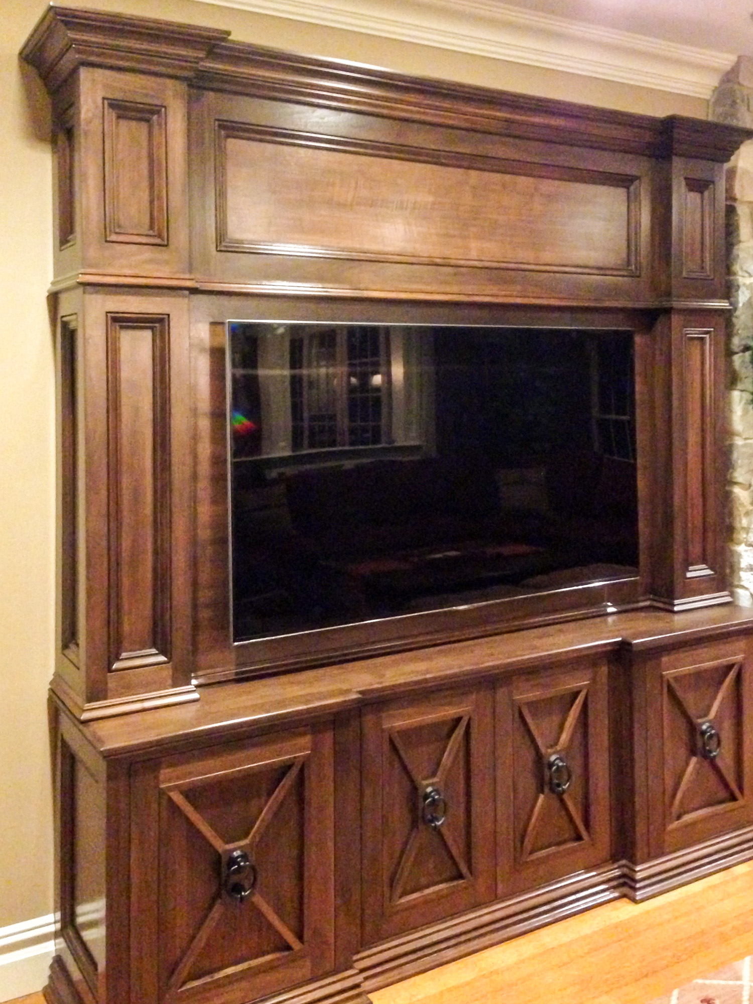 Custom Entertainment Cabinetry