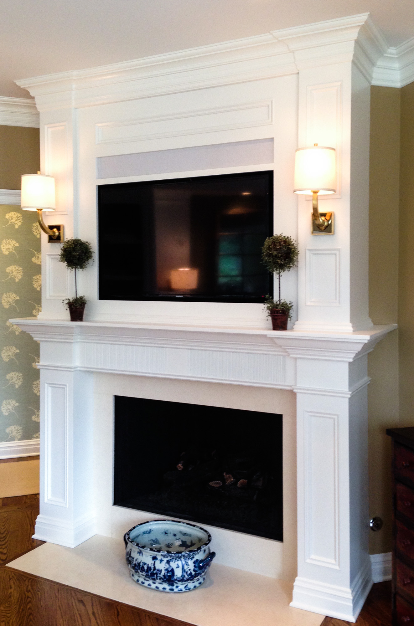 Custom Fireplace Surrounds