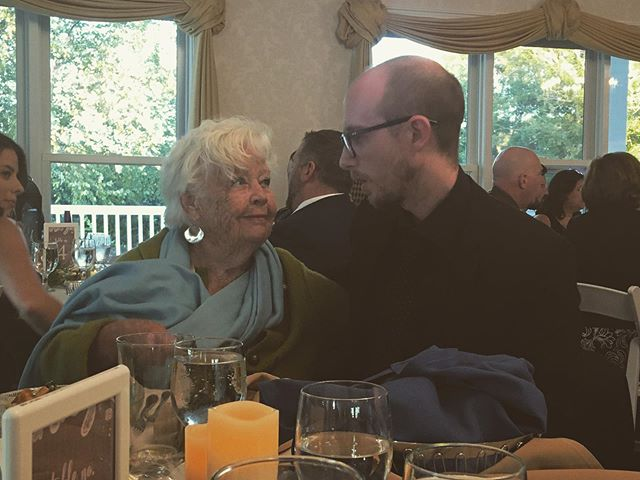 Finally got to meet the Great Aunt Jane. The Sprit of Wit runs deep in Westerly, Rhode Island!