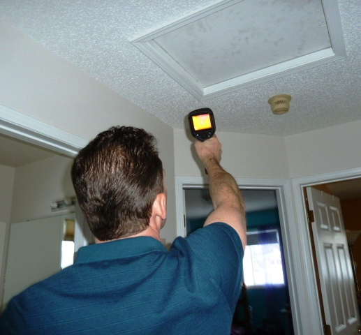 Attic hatches are notorious sources of heat loss.