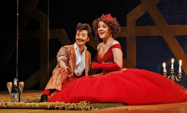 Portland Opera's  Rinaldo.  Design: Jacob Climer