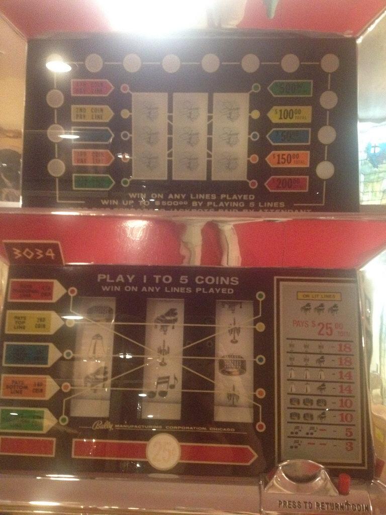 """A """"Liberace"""" slot machine"""