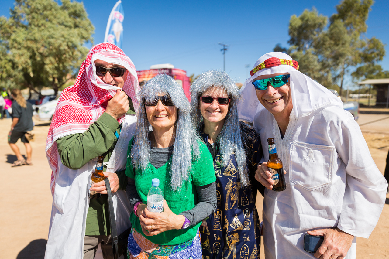This group from Canberra came adorned in their finest Egyptian attire