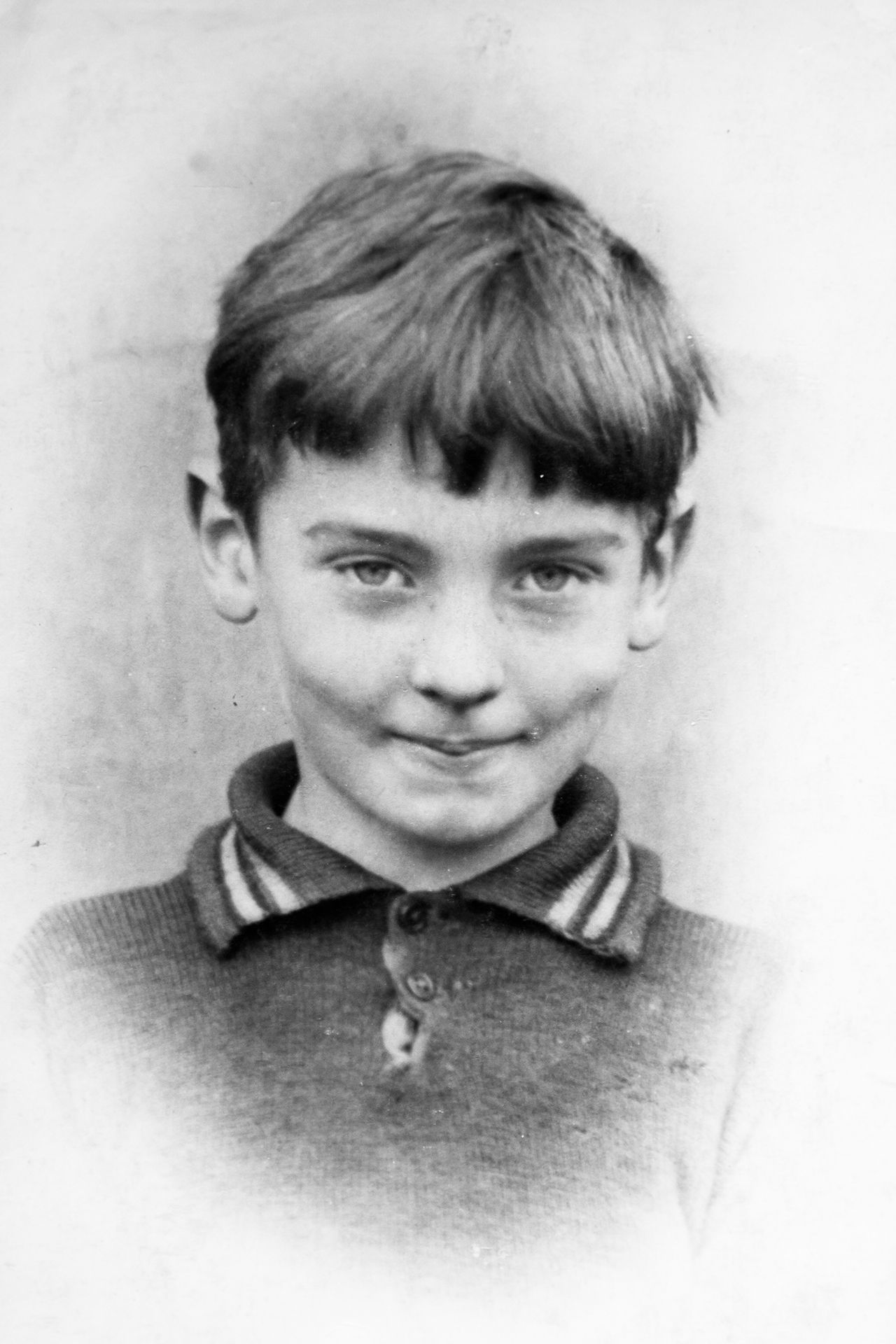 A young Ted, age seven