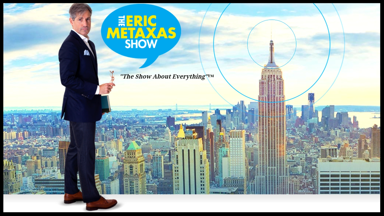 The Eric Metaxas Show    | Listen from 14:20  |  February 15th 2018