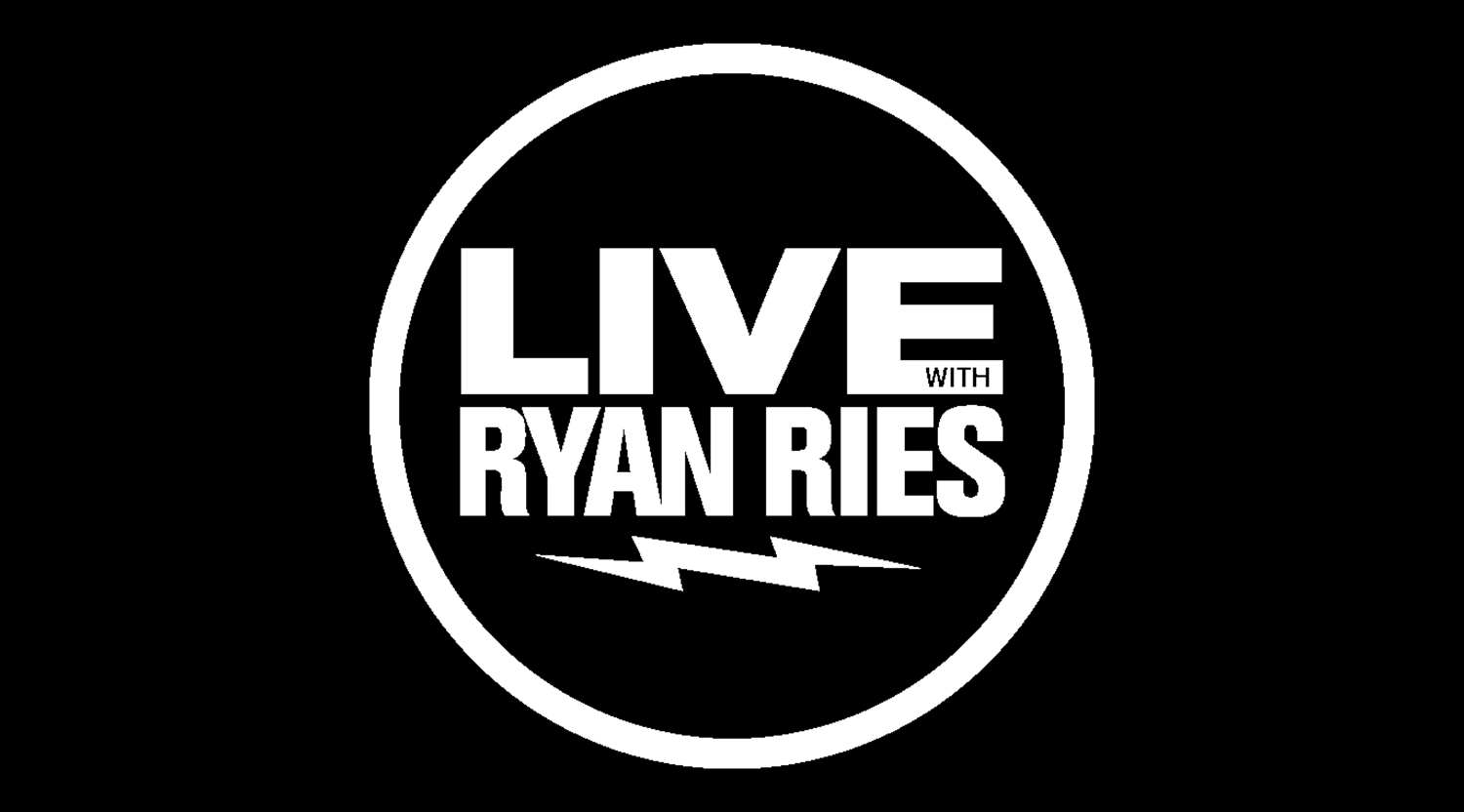 Live with Ryan Ries    |   April 20th 2019