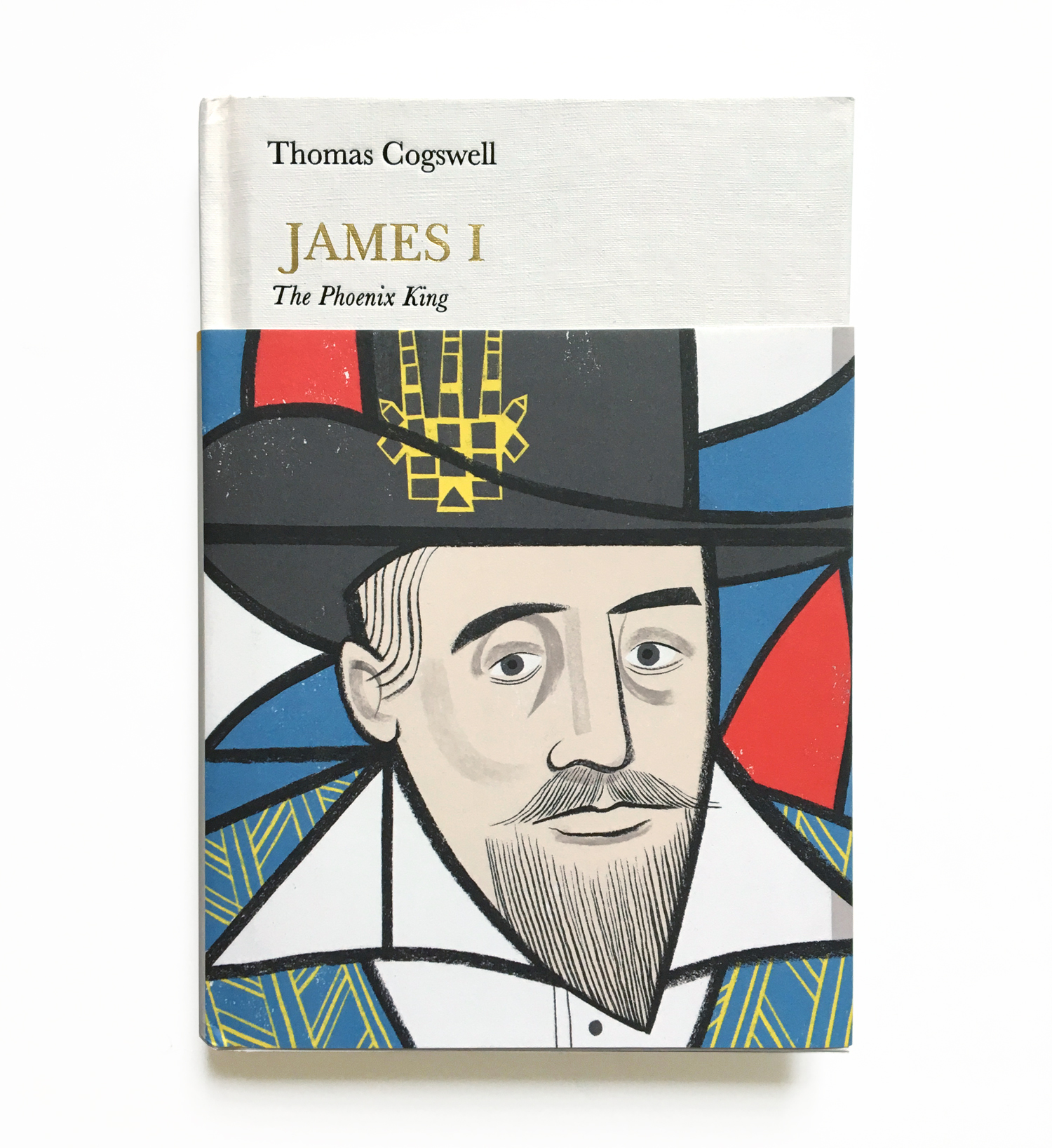 Penguin Monarchs - Cover for a biography of James I, as part of the Penguin Monarch series.