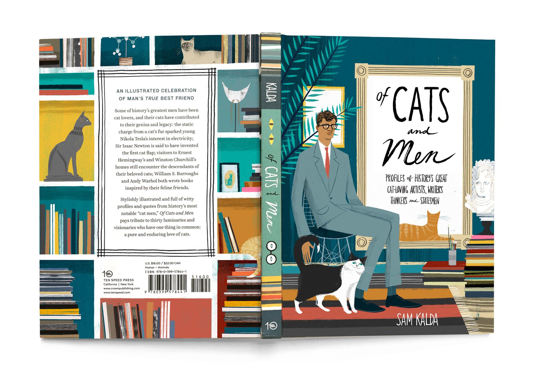 Of Cats and Men - Ten Speed Press, 2017