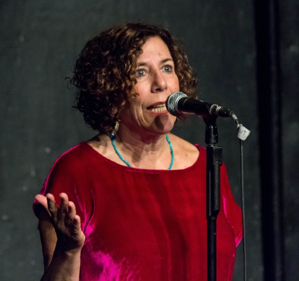 Jean Le Bec shares her story in New York in July 2017.