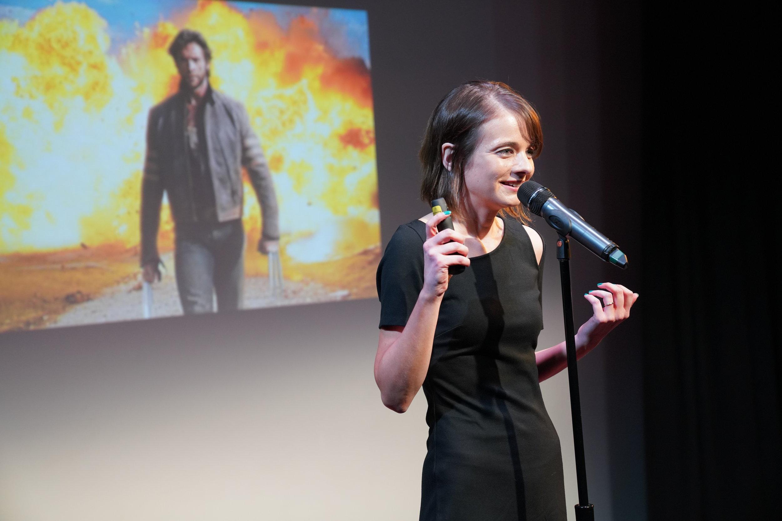 Erin Barker, artistic director of Story Collider