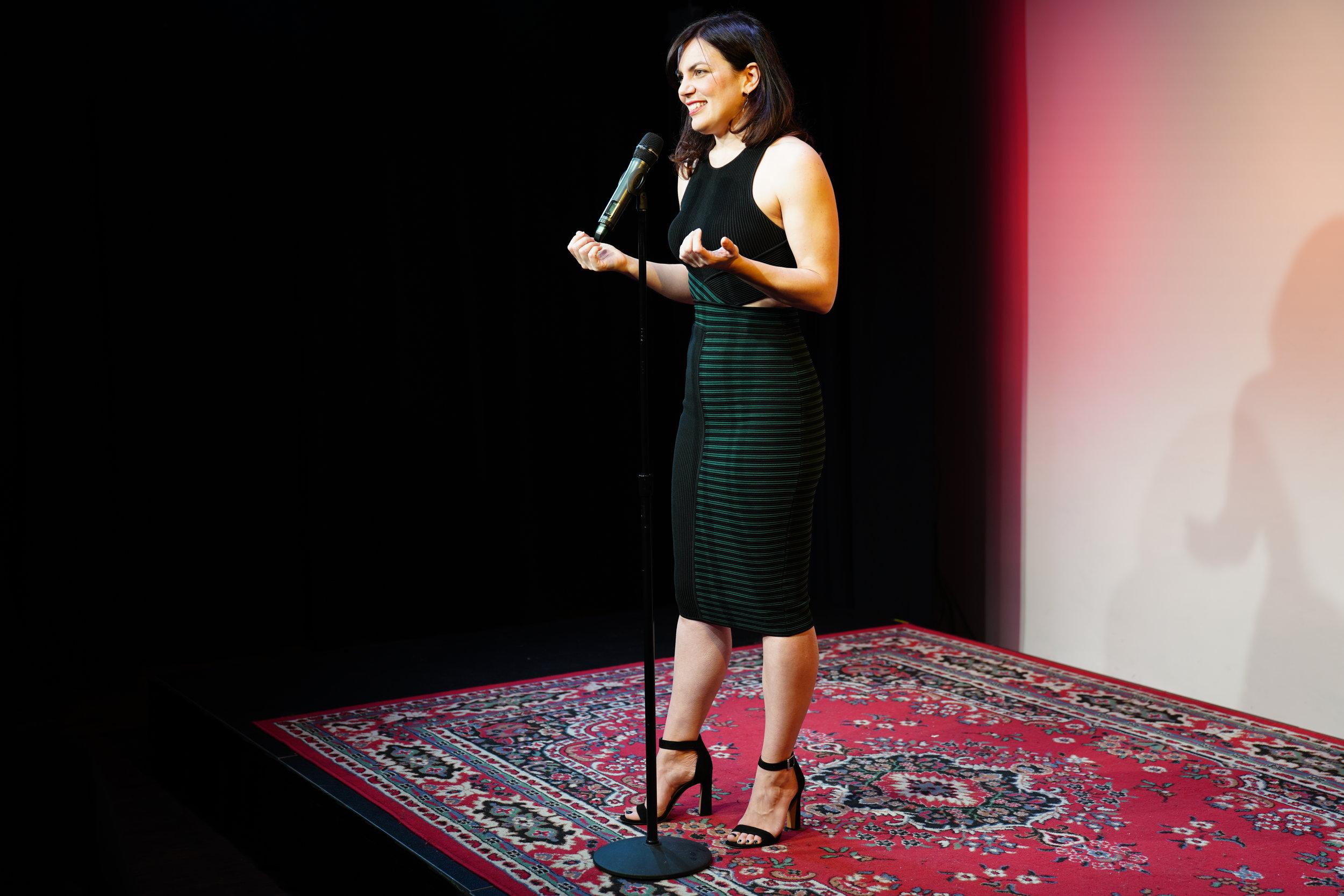 Liz Neeley, executive director of Story Collider