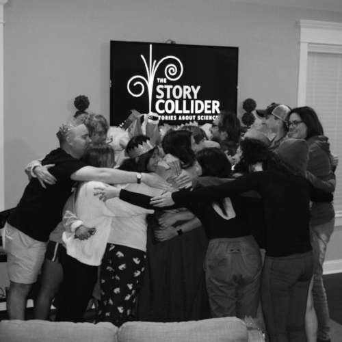 Join our team, and you too could be a part of this massive producer group hug!