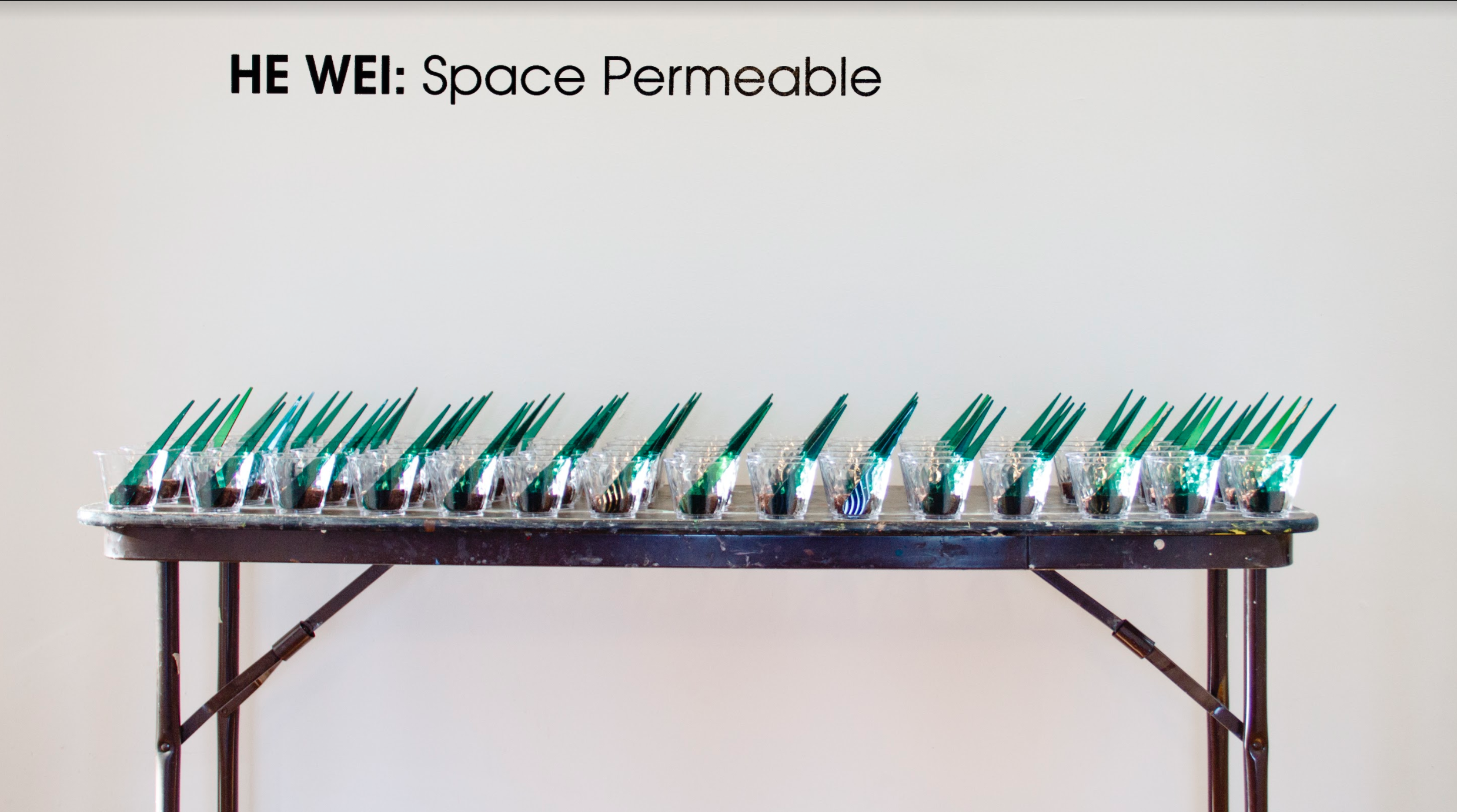 Manna @ The Center for Contemporary Art in NJ 2017_HE Wei solo: Space Permeable