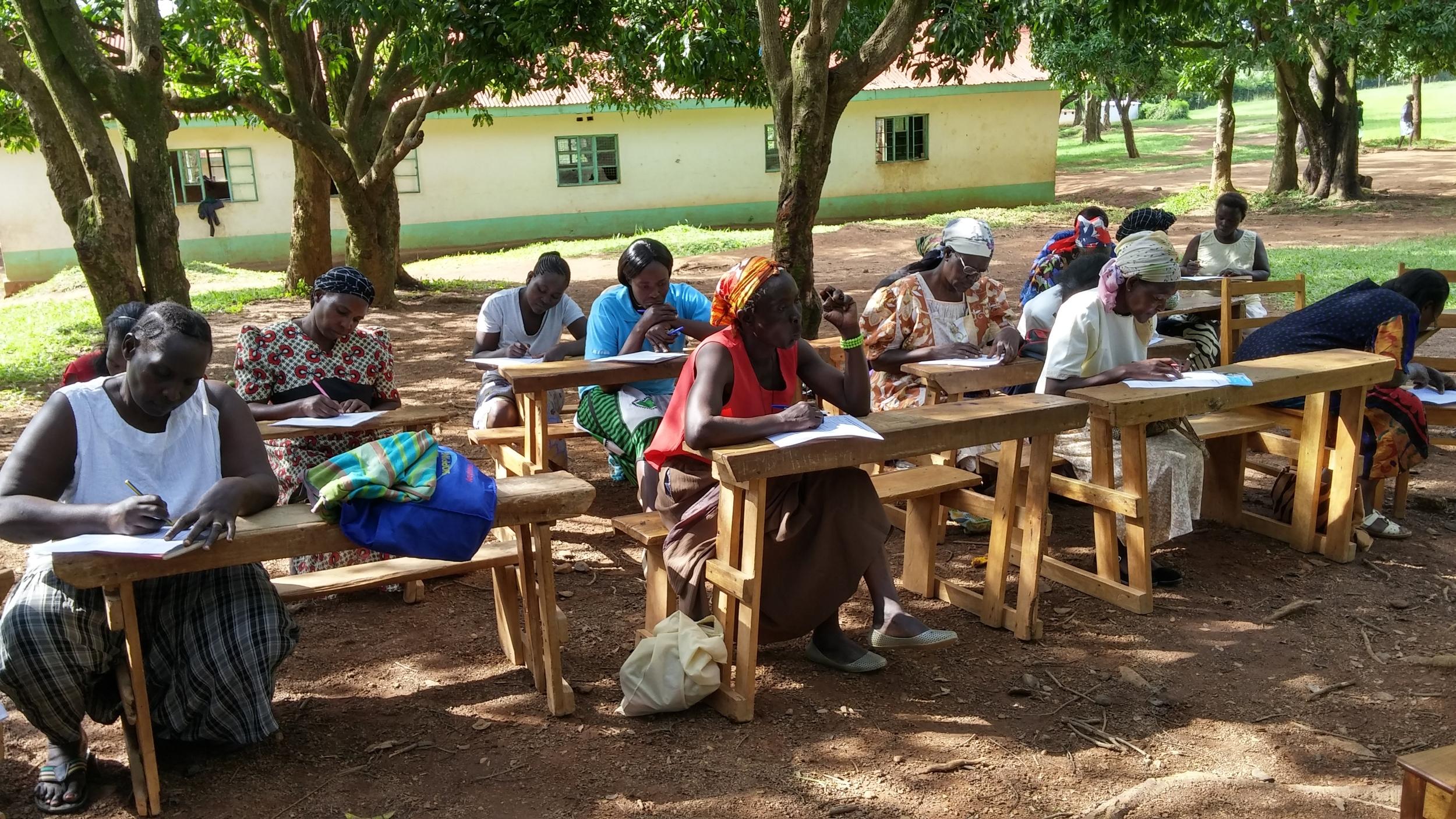 women learning about waterborne disease.jpg
