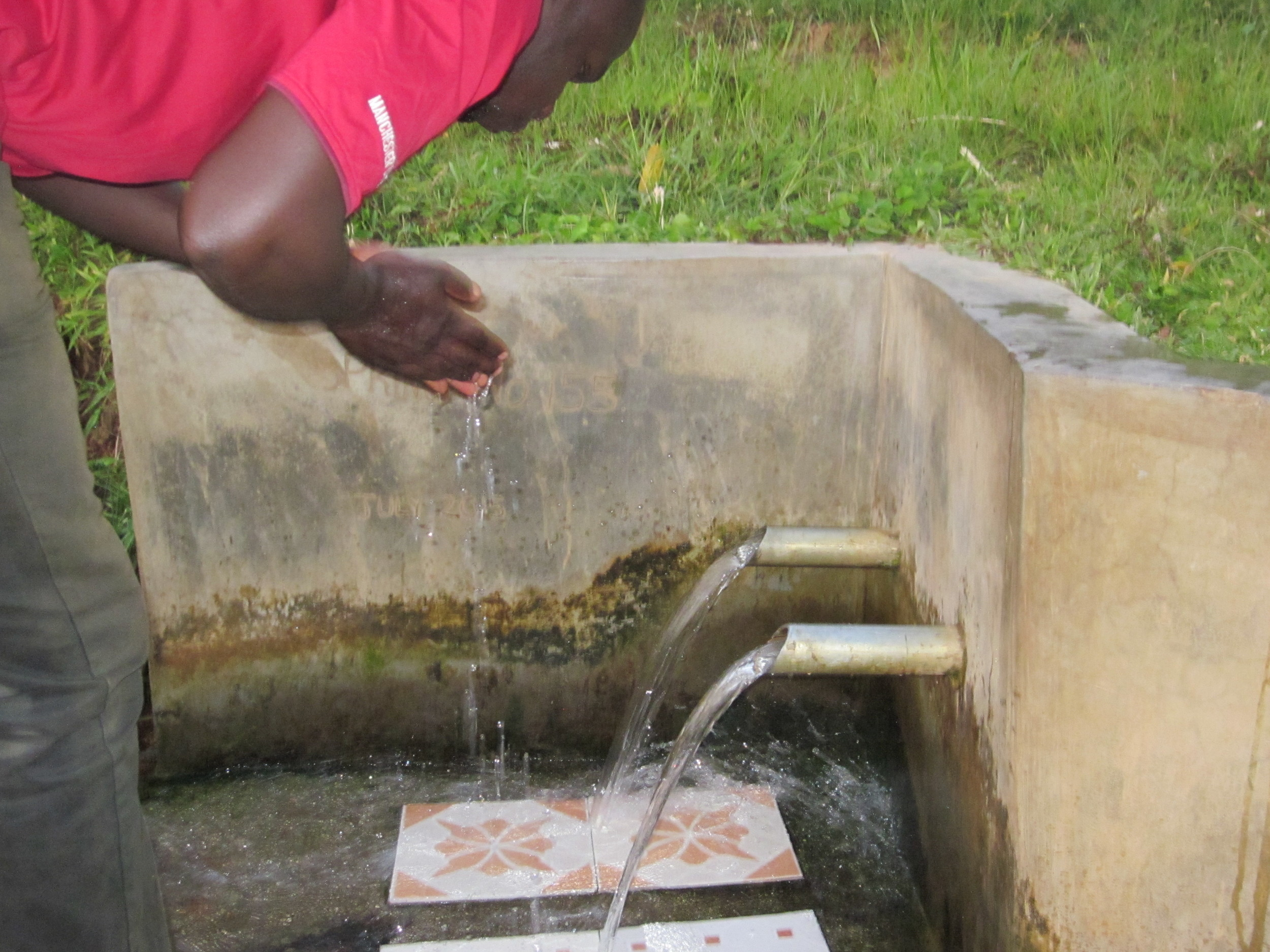 Clean water contributes to proper hygiene
