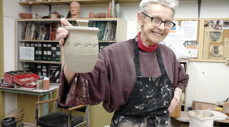 She was a founding member of the North Peace Potters Guild and the FSJ Community Arts Council