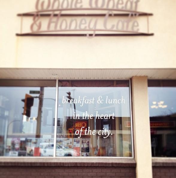Whole Wheat & Honey Cafe Catherine Ruddell