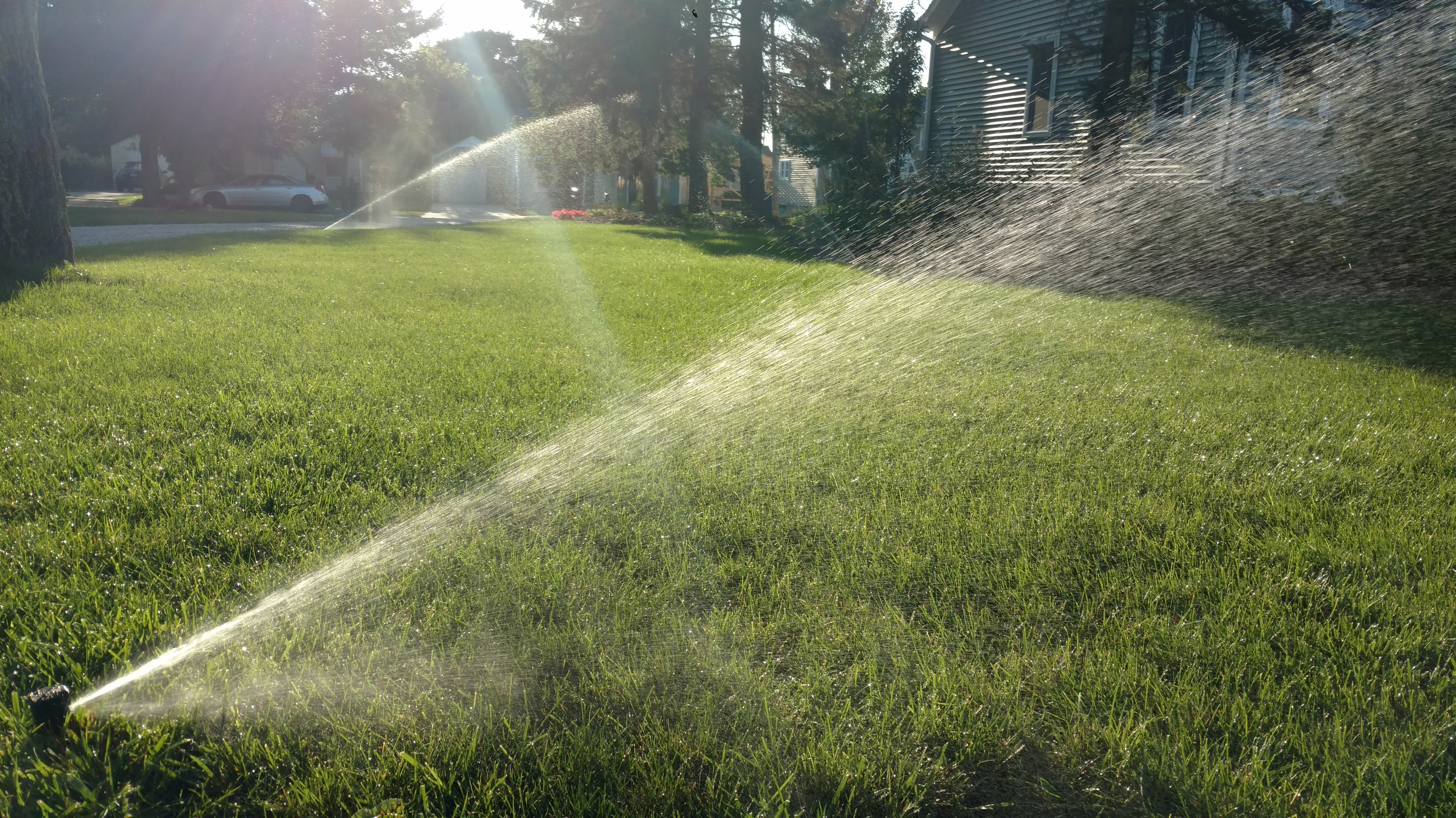Lawn Sprinklers - Call 989.213.9090 FOR SALES & SERVICE
