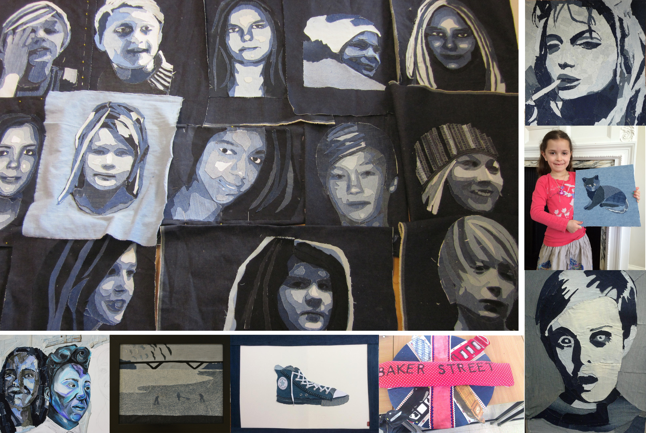 Ian has been super honoured that so many schools and pupils have chosen him as their artist inspiration and from all over the world. We get questions all the times from teachers asking questions and pupils sending in their work. If you would like any help on any education help, contact  maildenimu@gmail.com