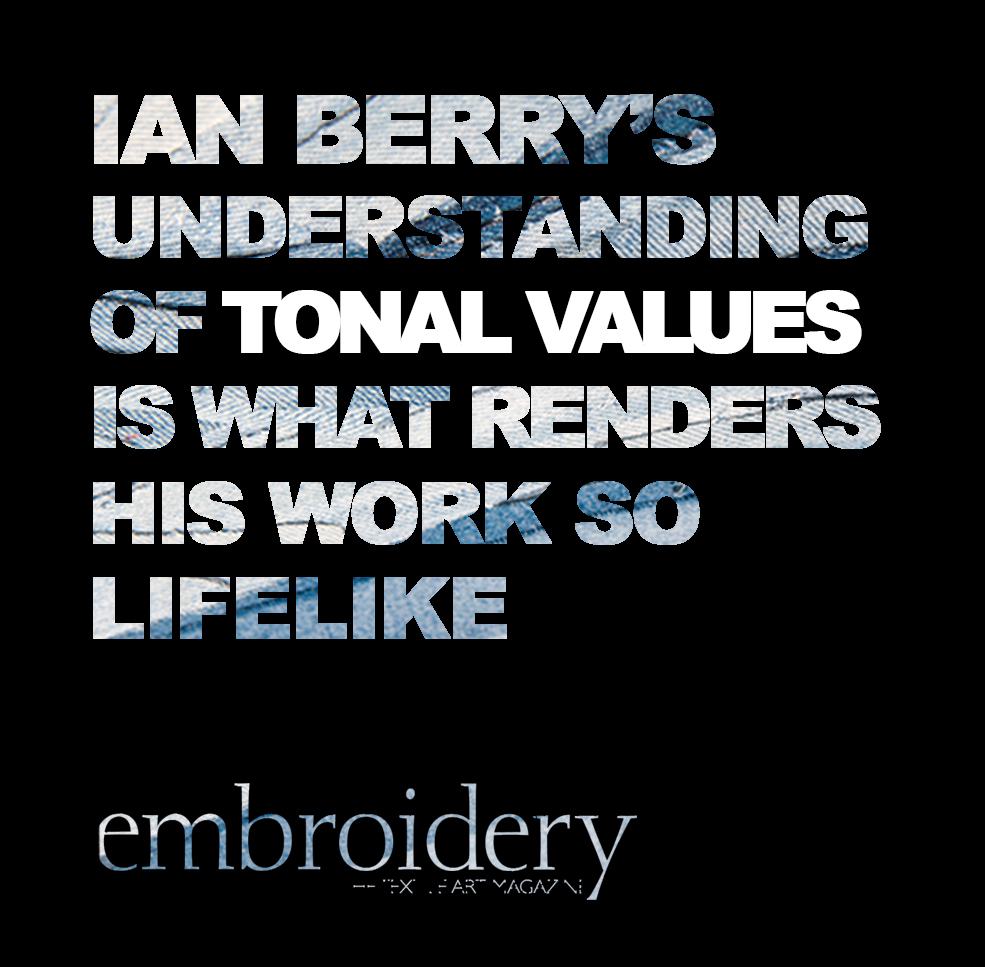 embroidery magazine Ian Berry