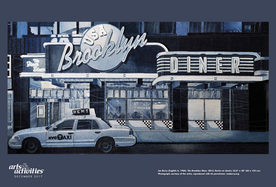 Ian's piece, the Brooklyn Diner was used as an example