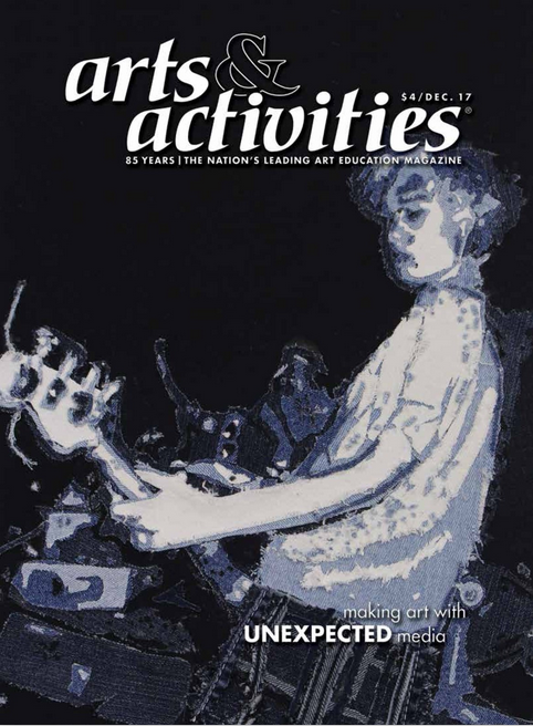 - arts&activites magazine has published a piece on Ian Berry further highlighting Ian's education credentials. Coming out, coincidentally around the same time as the Children's Museum of the Arts opened its doors to the Secret Garden Installation. It also shows how a school did a project on him, and here one of the kids works makes the cover.