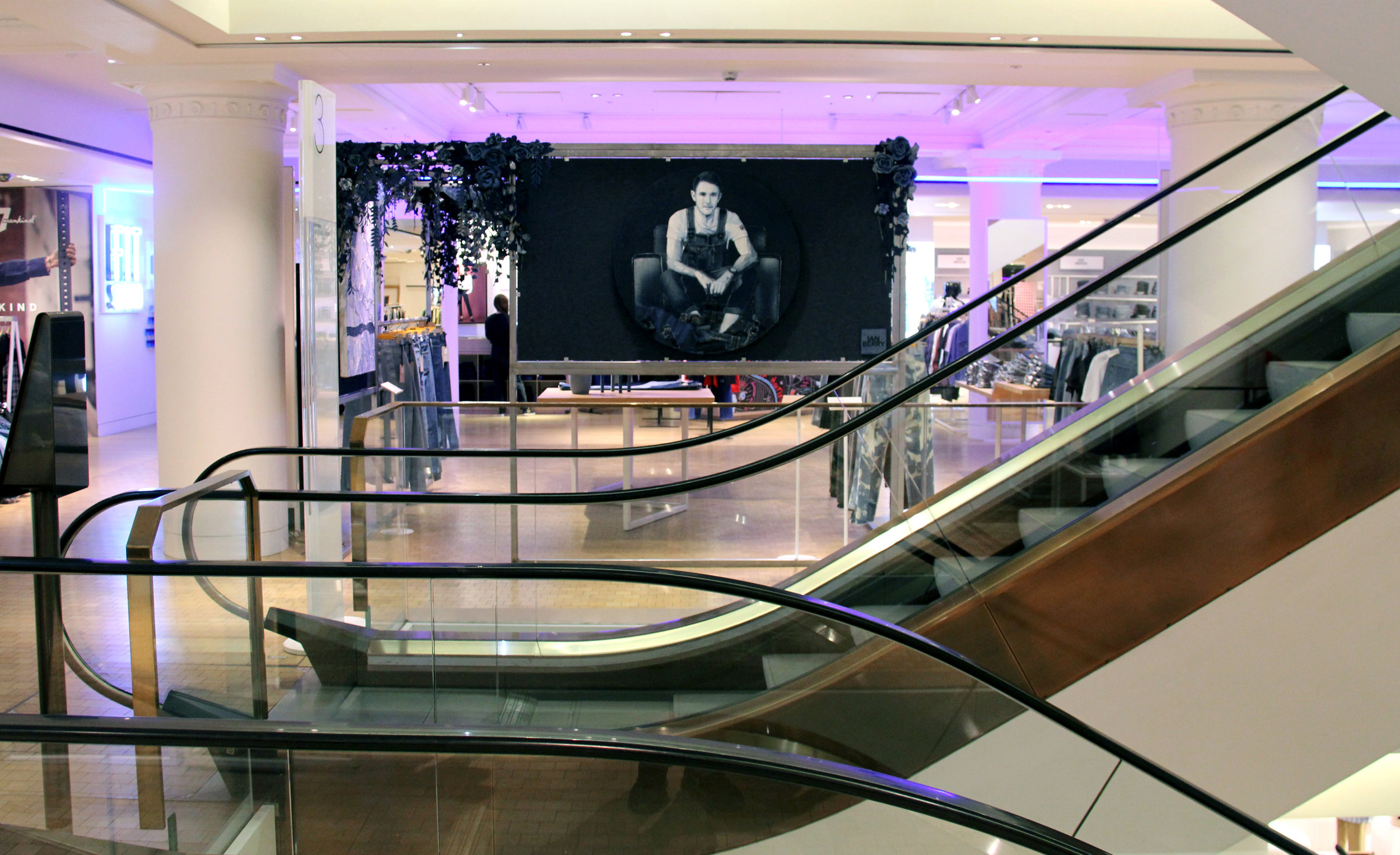 Ian Berry's Self Portrait in London's Selfridges
