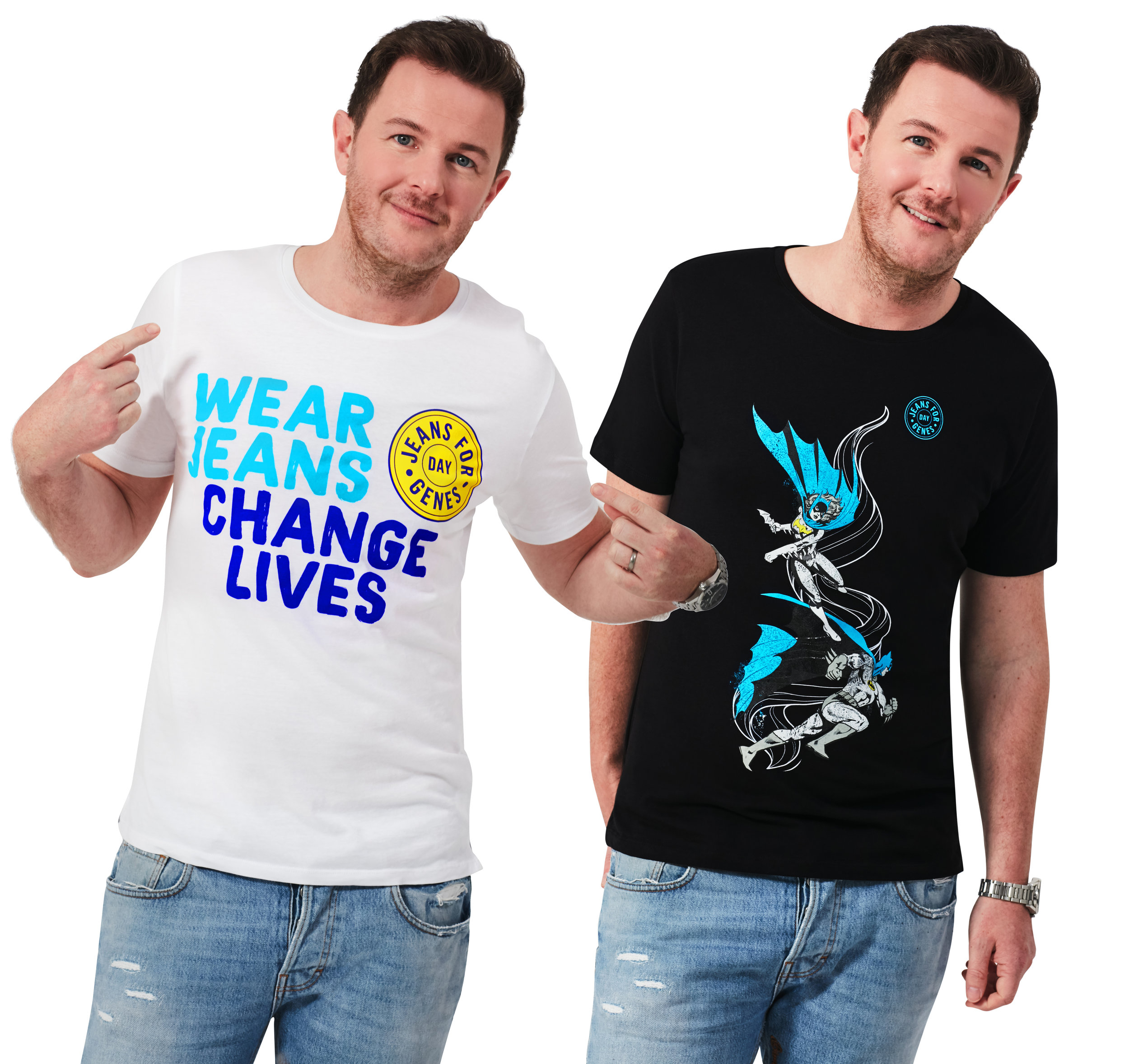 Jeans for Genes tees