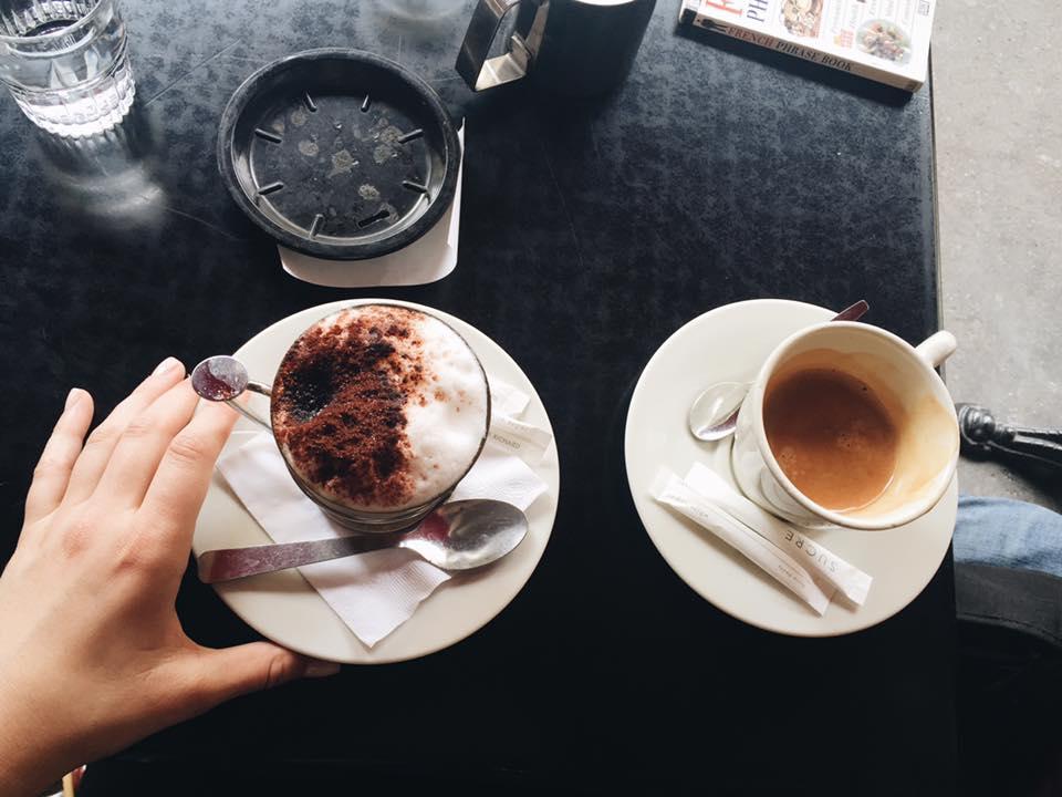 Café crème! My favorite!!