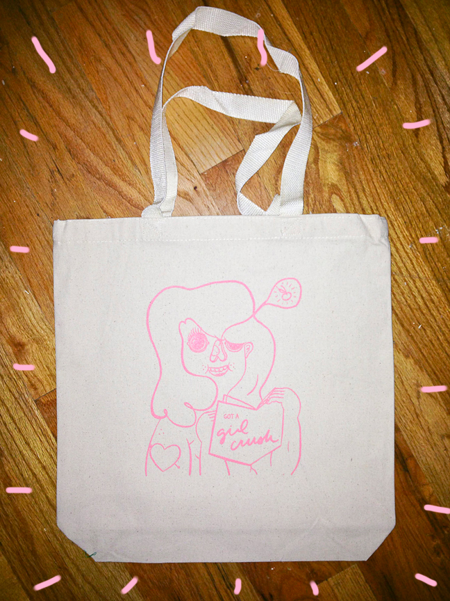 Totes are totes in! Patches too! The magazine is on deck! STAY TUNED BABIES!