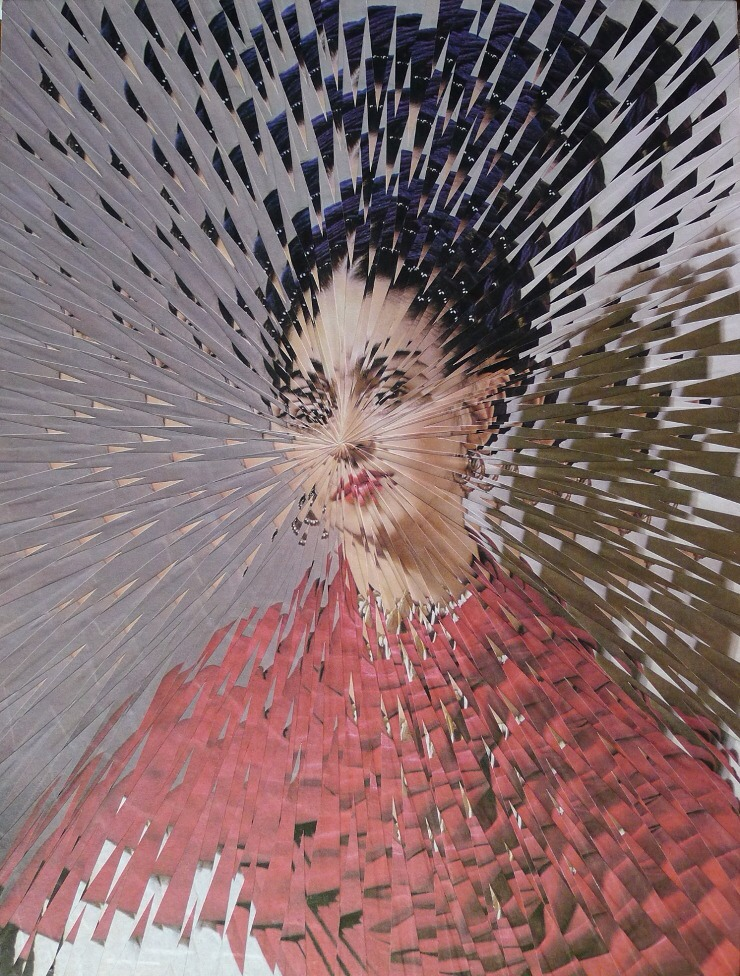 Got a Girl Crush On: The Art of Lola Dupre     Exploded Frida Kahlo #2 by Lola Dupre.