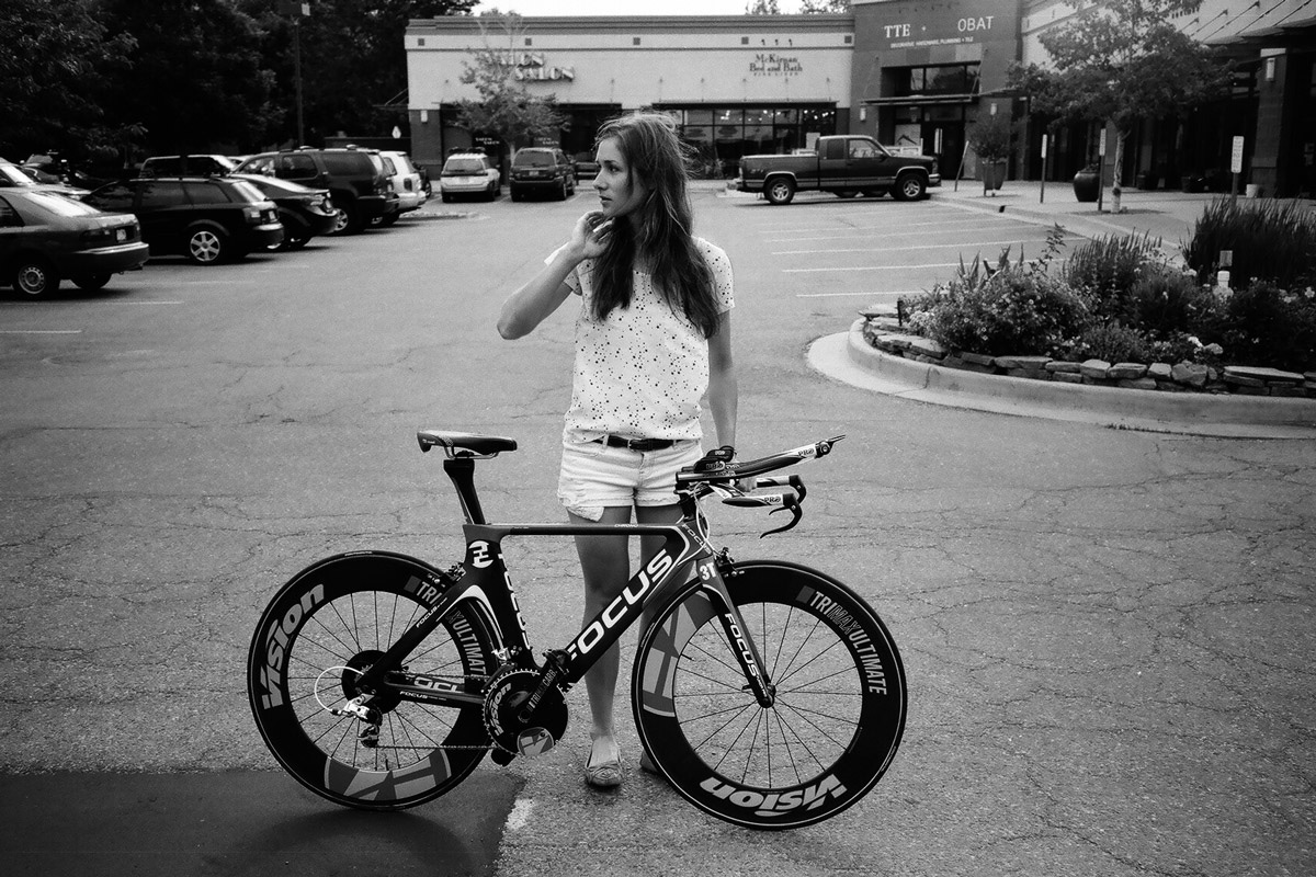 """Got a Girl Crush On: Olympiccycling babe, Julie Krasniak      Fact number one: The internet is filled with, and is a complete sucker for photos of girls on bicycles. Fact number two: One of my biggest peeves are photos of girls on bicycles that you know for damn sure don't belong to them. You know the images I'm talking about.Though the image above might appear to fall into the  """"beautiful female on bicycle not belonging to her """" category, do not be fooled.   The lovely lady you see is one Julie Krasniak, and  the bicycle that accompanies her  in the photograph is the one she will be riding in Olympic preparation and the French national time trials. Shouts to all the ladies putting in work.     Read more at TENSPEEDHERO              (via cycleangelo )     PHOTO © TENSPEEDHERO"""