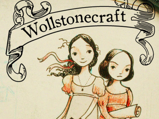 """(**editor's note: say hello to newest contributor is GAGC, Cassie !**)     Got a Girl Crush On: The protagonists of sci-fi children's novel  Wollstonecraft      Their mystery-solving adventures may be a figment of author Jordan Stratford's imagination, but the ladies who inspired their characters are all too real: Ada Byron , widely considered to be the world's first computer programer, and noted English novelist  Mary Shelley . Stratford describes his work as a """"pro-math, pro-science, pro-history and pro-literature adventure novel for and about girls."""" He also says he wants his nine-year-old daughter to grow up to """"be a mad scientist and take over the world."""" We approve on both counts.    Editions of the book can be pre-ordered on  Kickstarter ."""