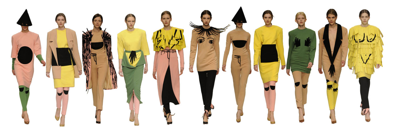 Got a Girl Crush On:  Laura Mackness     Looking at these all lined up brings me much joy.   (via raisedonsandwiches )