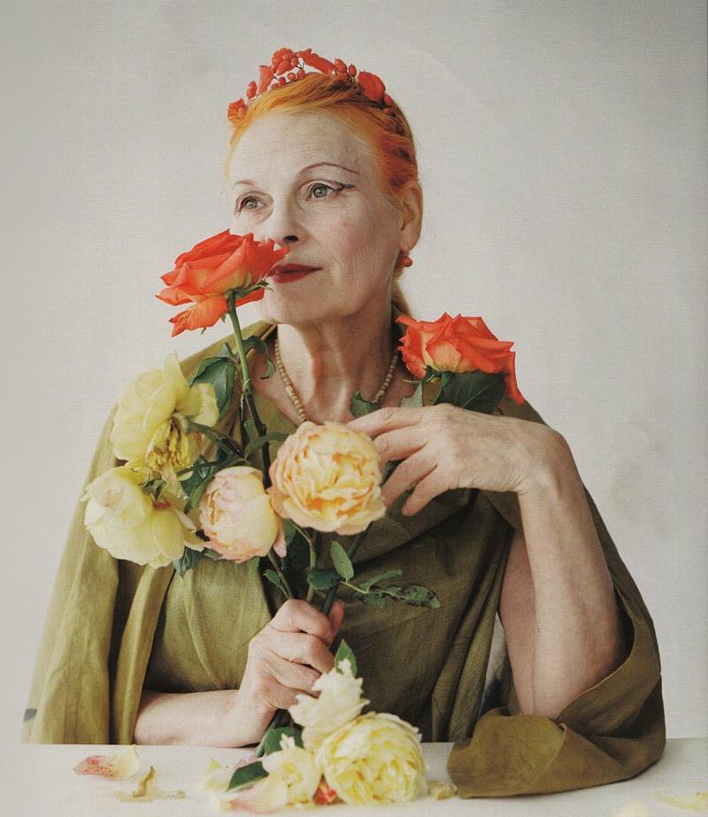 Got a Girl Crush On: Vivienne Westwood     by  Tim Walker for British Vogue