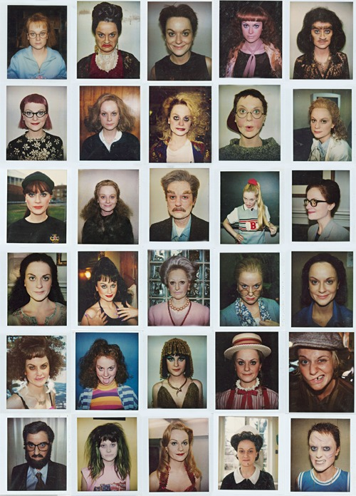 Got a Girl Crush On: Amy Poehler(oids)!    In honor of Upright Citizen Brigrade's 15th anniversary,  New York Magazine  has unearthed Amy Poehler make-up polaroid tests as 30 different alter egos.   They are no less than amazing!