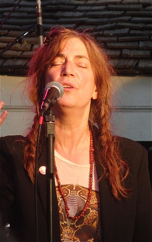 """Got A Girl Crush On: Patti Smith covering Adele's """"Rolling In the Deep""""                   (photo by twi-ny on flickr )"""