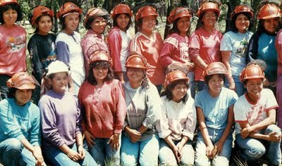 Got A Girl Crush On:   Apache 8 : the all women wildland firefighting crew from the white mountain apache tribe.      (via jennilee : REFERENCE LIBRARY )